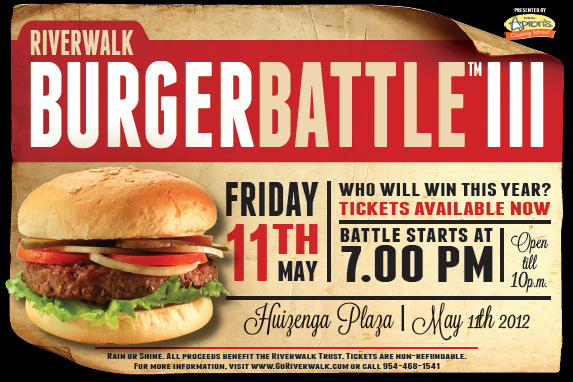 Riverwalk Burger Battle™ III