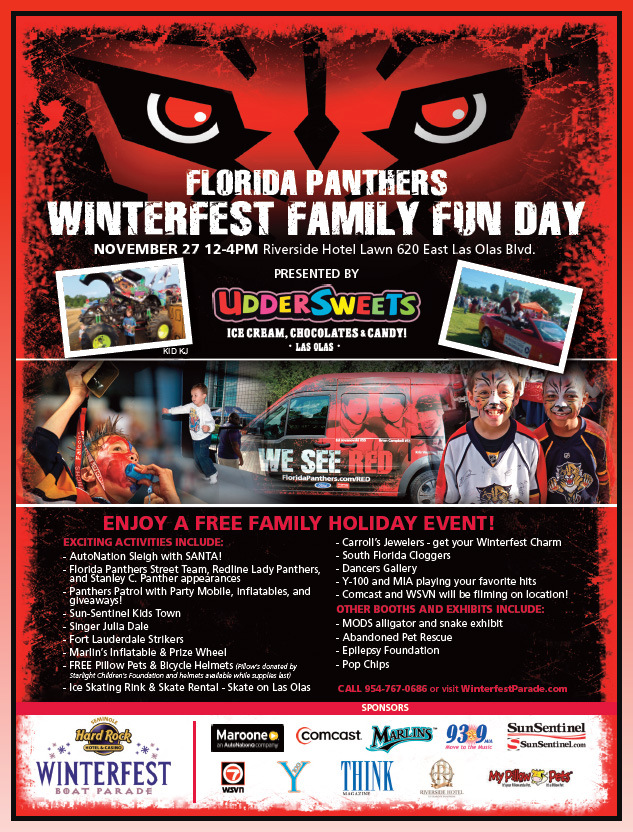 Florida Panthers Winterfest Family Fun Day - Presented by UdderSweets