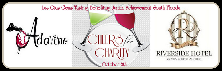 Cheers for Charity | Las Olas Gems Tasting Benefiting Junior Achievement