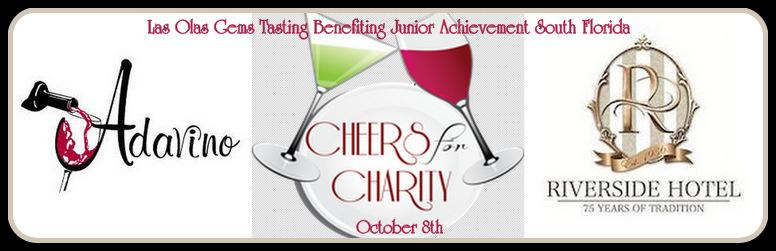 Cheers for Charity | Las Olas Gems Tasting Benefiting Junior Achievement