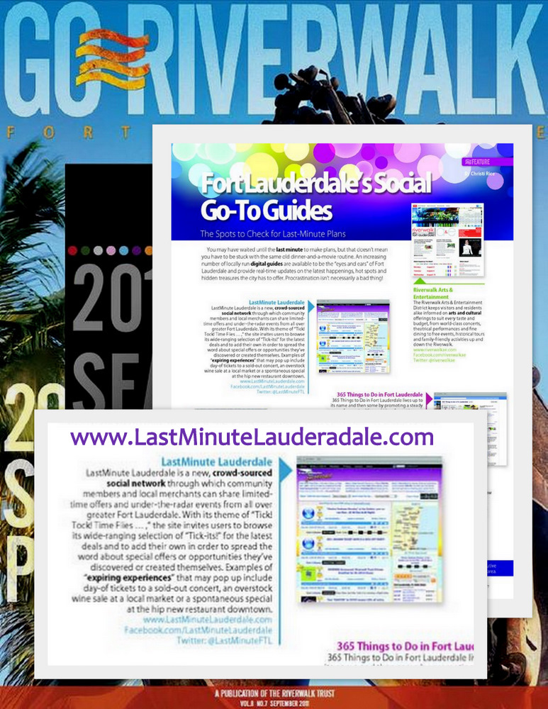 LastMinute Lauderdale article