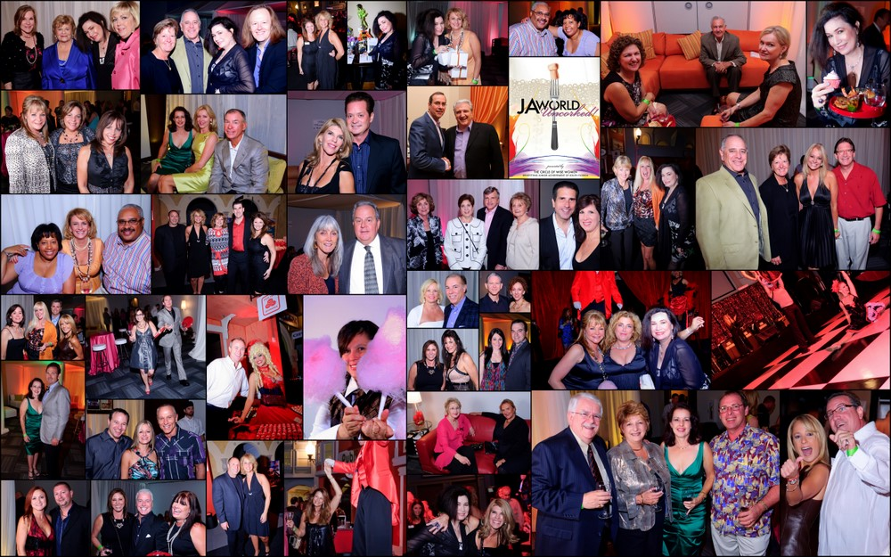 JA World Uncorked! Collage