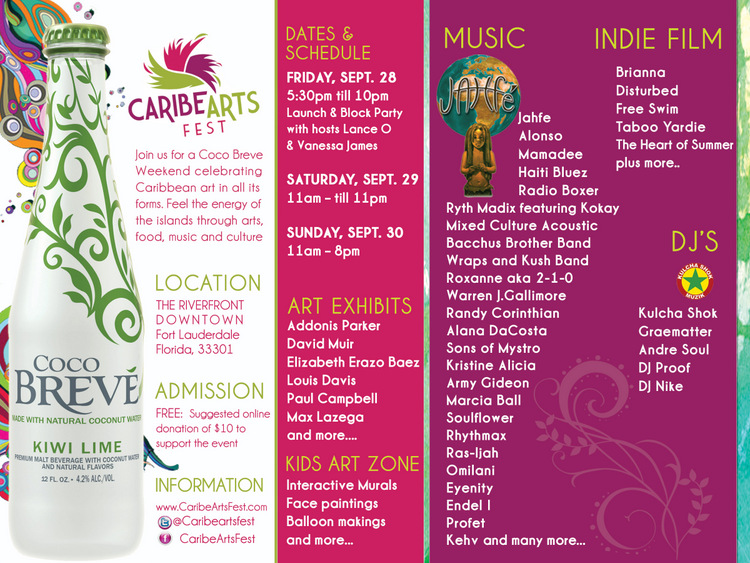 Caribe Arts Fest 2012